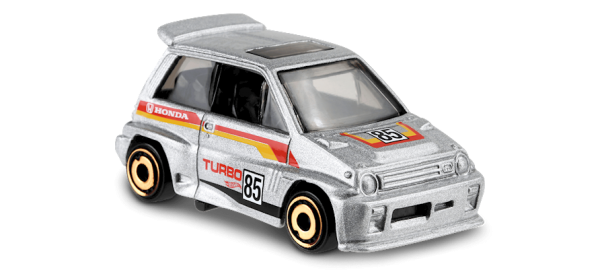 Hot Wheels | '85 Honda City Turbo silber