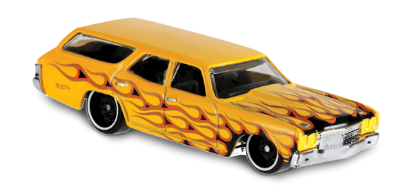 Hot Wheels | '70 Chevelle SS Wagon gelb mit Flammen