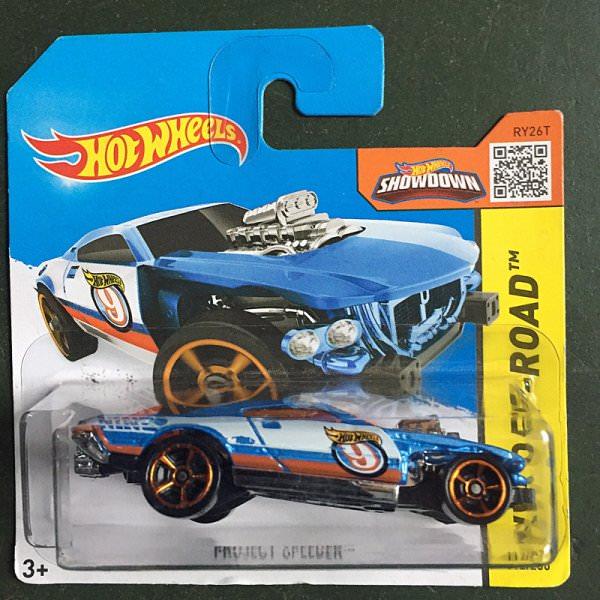Hot Wheels | Project Speeder blau/weiß
