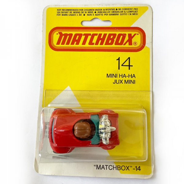 Matchbox | Mini Ha-Ha No. 14 Blister DE / JUX-MINI