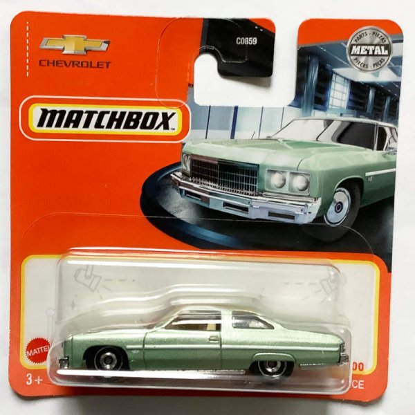 Matchbox | 1975 Chevy Caprice pastellgrünmetallic