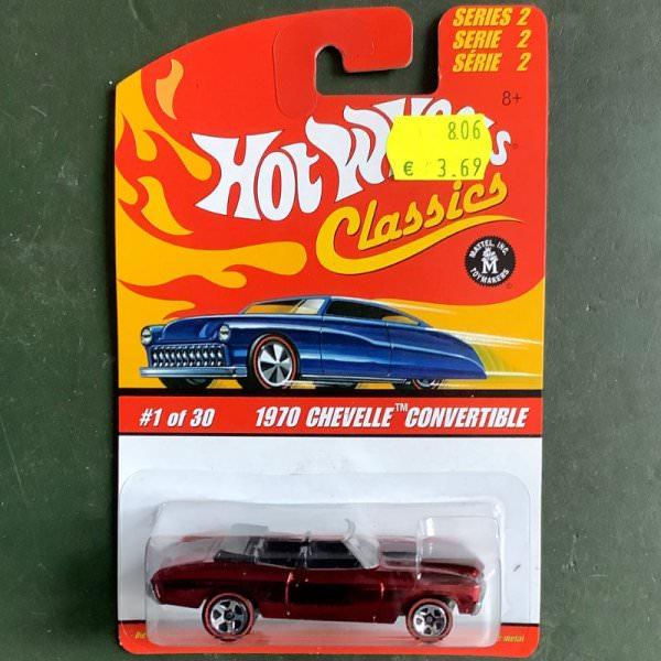Hot Wheels | Classics Serie 2 1 of 30 1970 Chevelle Convertible rotmetallic