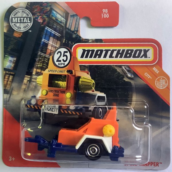 Matchbox | Speed Trapper orange / blau