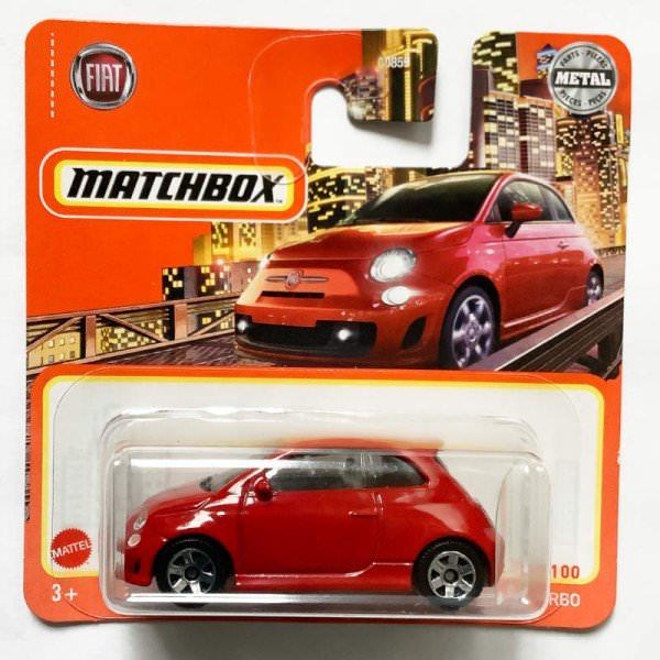 Matchbox | 2019 Fiat 500 Turbo rot
