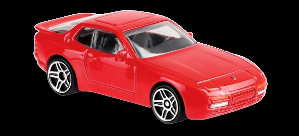 Hot Wheels | '89 Porsche 944 Turbo red