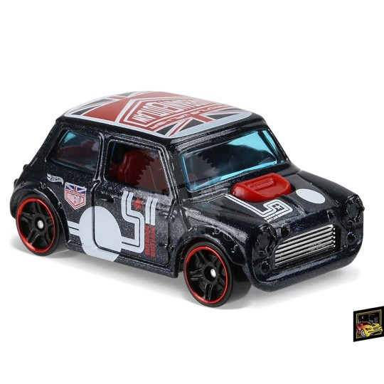 Hot Wheels | Morris Mini Urban Outlaw blaumetallic Nightburnerz