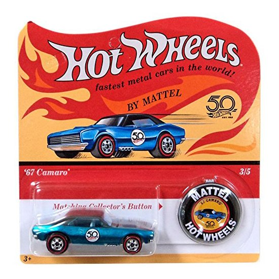 Hot Wheels | 50th Anniversary Originals Series '67 Camaro türkismetallic