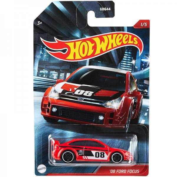 Hot Wheels   2008 Ford Focus red