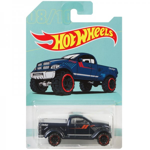Hot Wheels | 08 Dark blue Dodge Power Wagon American Pickups Walmart Series