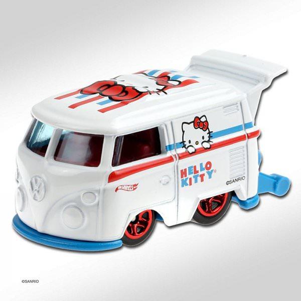 Hot Wheels   Kool Kombi HELLO KITTY white