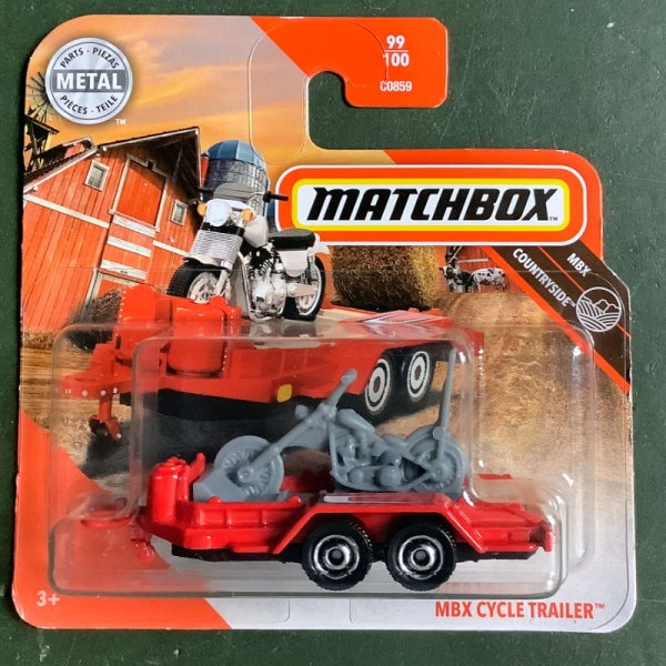 Matchbox | MBX Cycle Trailer with Chopper