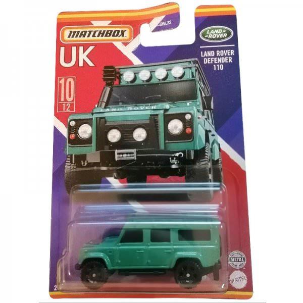 Matchbox | Best of UK Serie Mix 1 10/12 Land Rover Defender 110 petrol