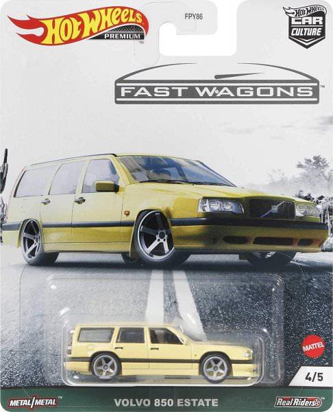 Hot Wheels | Fast Wagons Volvo 850 Estate hellgelb