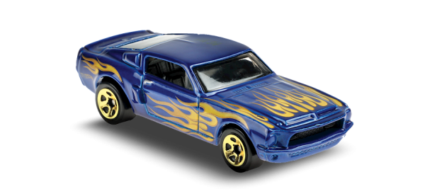 Hot Wheels | '68 Shelby GT500 blue