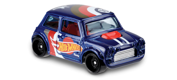 "Hot Wheels | Morris Mini ""Hot Wheels Racing"" metallic blue"