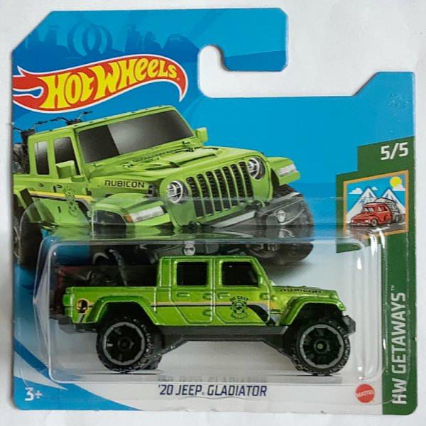 Hot Wheels   '20 Jeep Gladiator light green metallic