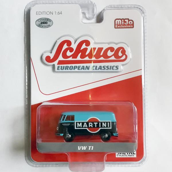 Schuco   Volkswagen T1 Bus *Martini*