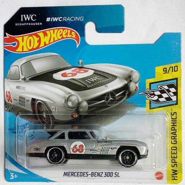 Hot Wheels   Mercedes-Benz 300 SL #68 silver