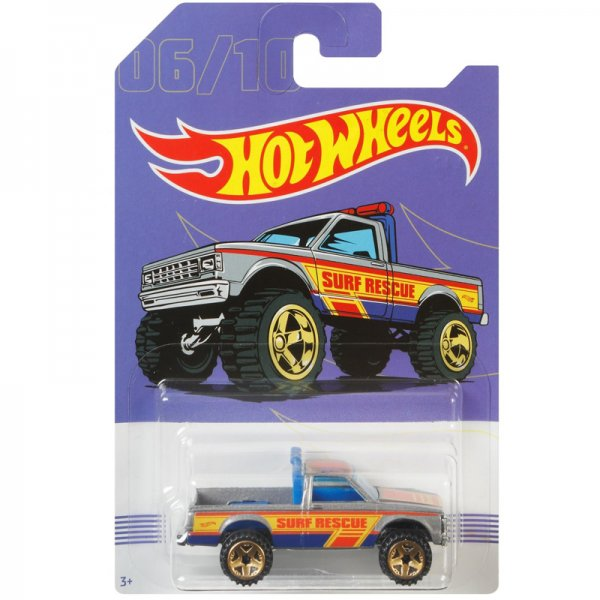Hot Wheels | 06 Path Beater silber American Pickups Walmart Serie