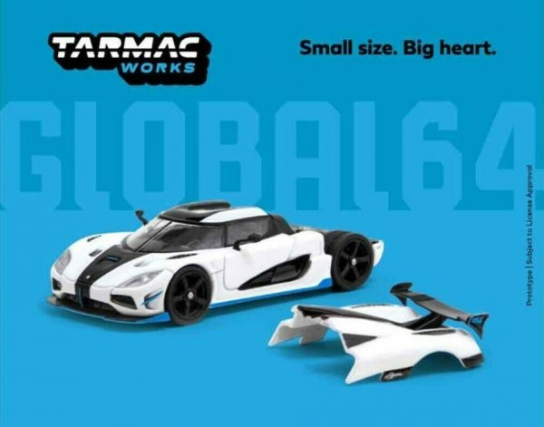 Tarmac Works   Koenigsegg Agera RS white