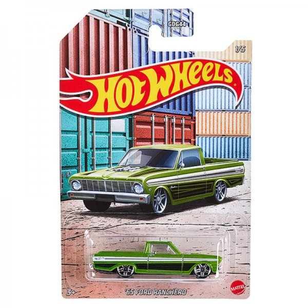 Hot Wheels | 1965 Ford Ranchero green