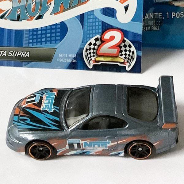 Hot Wheels | MYSTERY Models 2. Series 2021 #01 Toyota Supra silver