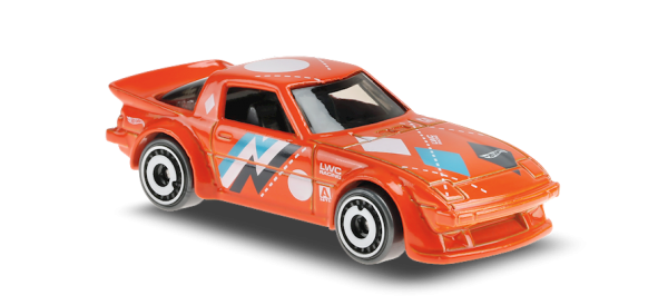 Hot Wheels | Mazda RX-7 orange