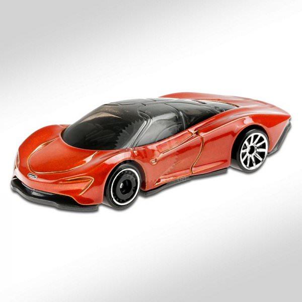Hot Wheels | McLaren Speedtail orange metallic