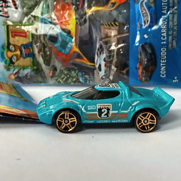 Hot Wheels | MYSTERY Models 1. Serie 2021 #02 Lancia Stratos TSUNAMI RALLY türkis