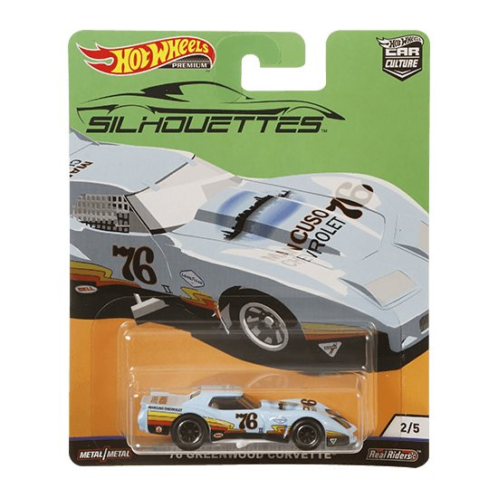 Hot Wheels | Silhouettes 02 '76 Greenwood Corvette