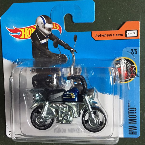 Hot Wheels | Honda Monkey Z50 blau