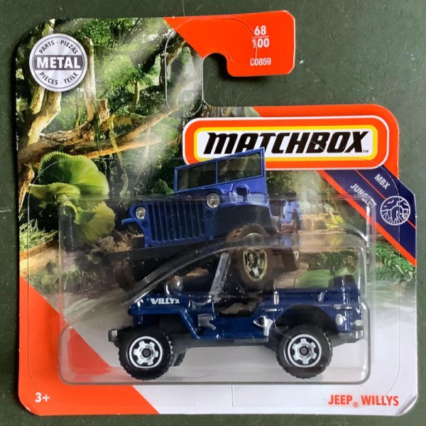 Matchbox | Jeep Willys dark blue
