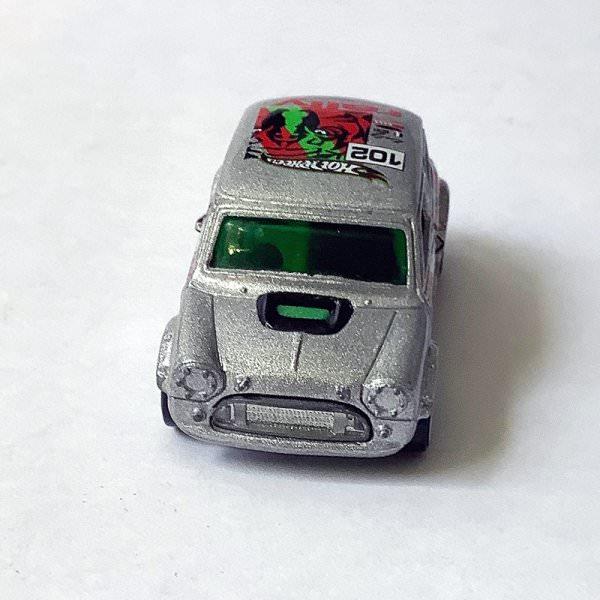 Hot Wheels   Mini Cooper TIKI TORCHERS silber #102