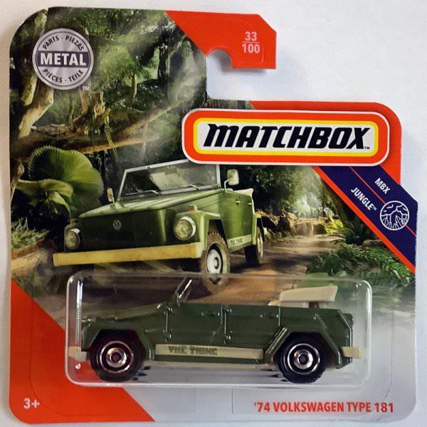 Matchbox | '74 Volkswagen Type 181 olive green