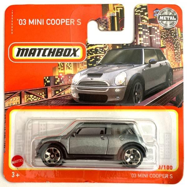 Matchbox | MINI Cooper S anthrazit metallic/schwarz