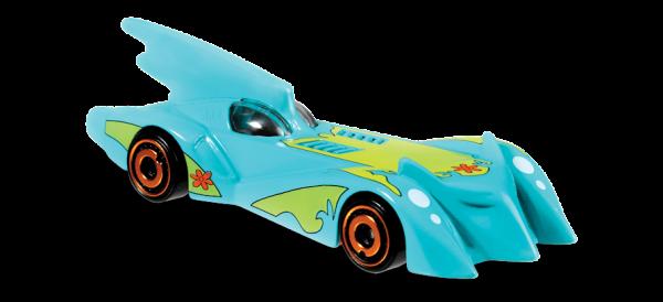 Hot Wheels | TV Series Batmobile Scooby-Doo türkis