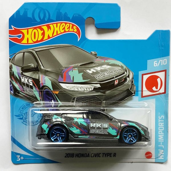 Hot Wheels | 2018 Honda Civic Type R HKS graumetallic