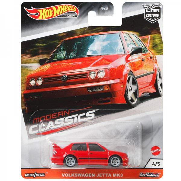 Hot Wheels | Modern Classics #04 Volkswagen Jetta Mk3 red