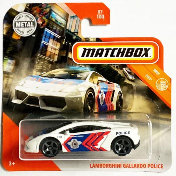 Matchbox | Lamborghini Gallardo Police white