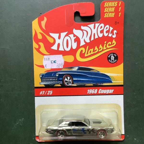 Hot Wheels | Classics Series 1 #7/25 1968 Cougar Chrom