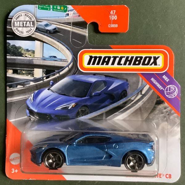 Matchbox | 2020 Corvette C8 blaumetallic
