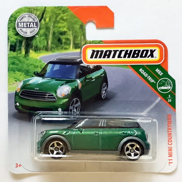 Matchbox | '11 MINI Countryman grünmetallic