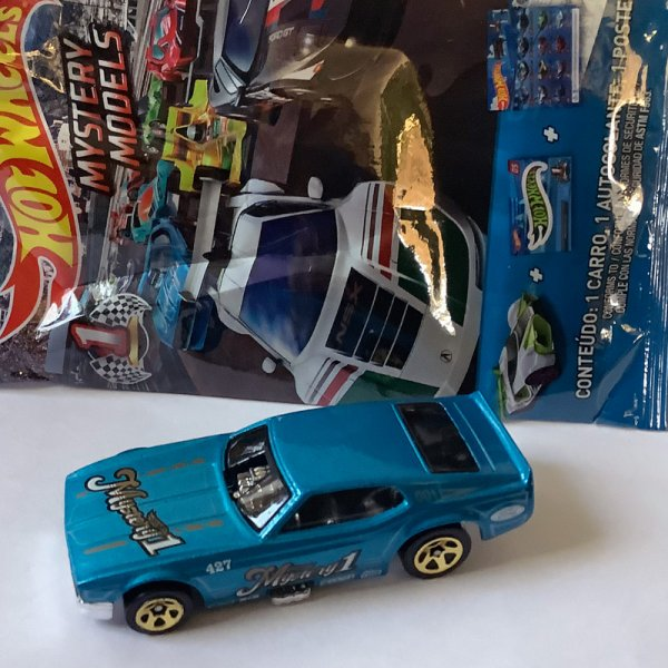 Hot Wheels | MYSTERY Models Track Cars Batch 1 2020 #01 '71 Mustang Funny Car (Chase Car)