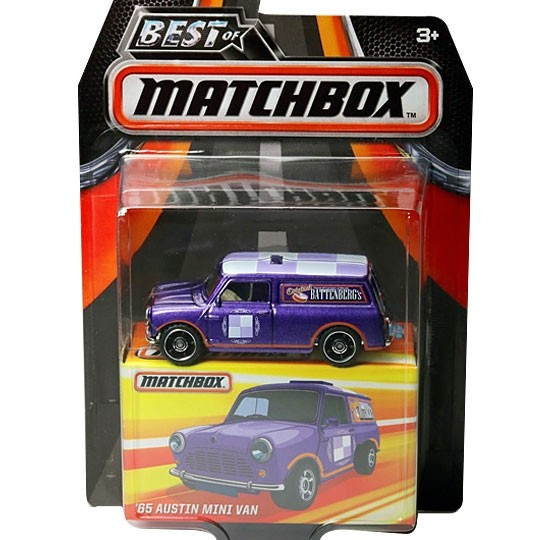 Matchbox | Mini Van Battenbergs violett