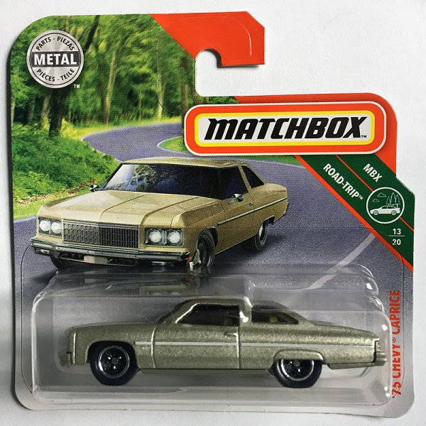 Matchbox | '75 Chevy Caprice brass colored