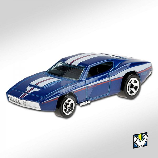 Hot Wheels | Custom OTTO blau