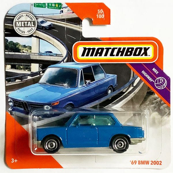 Matchbox | '69 BMW 2002 blue