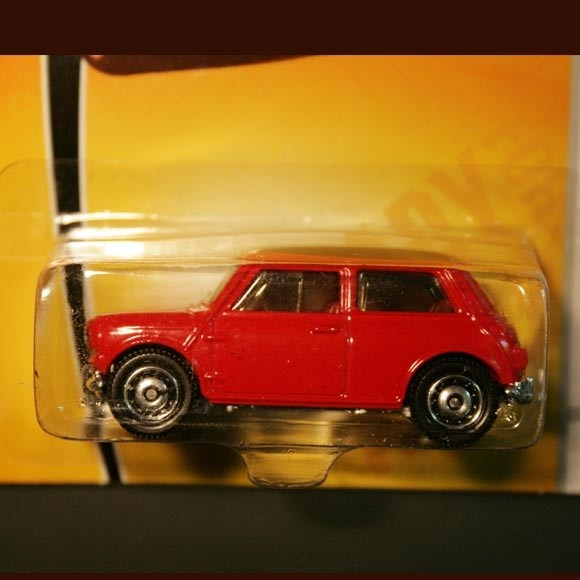 Matchbox | Austin Mini Cooper S rot US