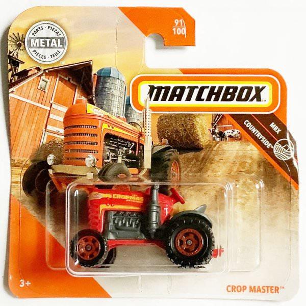 Matchbox | Crop Master Traktor red