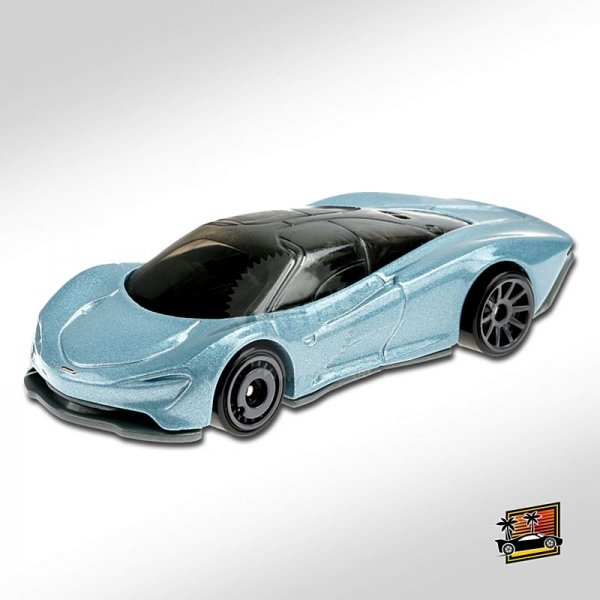 Hot Wheels | McLaren Speedtail grey blue metallic